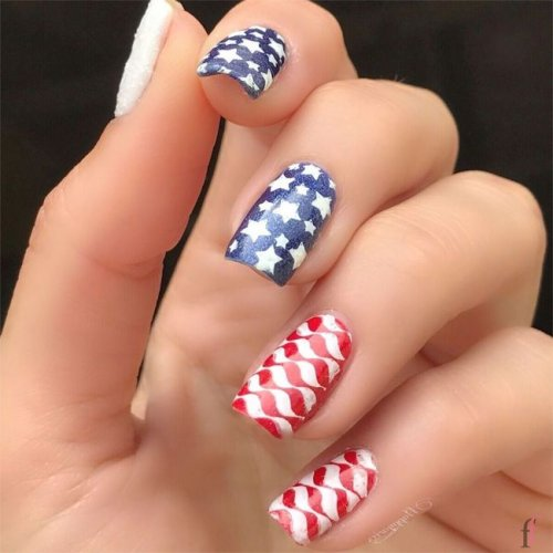 20 Best 4th Of July 2018 Nail Art Designs And Ideas Ffemalecom