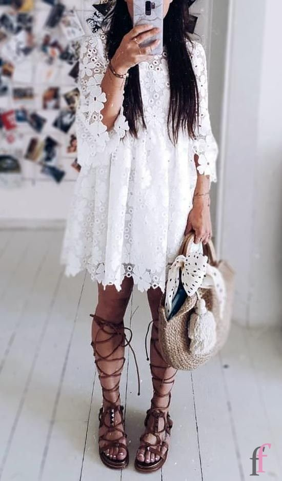 More than 20+ bohemian style dresses, unique stylish essential pieces that every boho style lovers needs. Try these fabulous bohemian outfits with gorgeous prints and striking colours, and you will be ready to celebrate in relaxed, yet beautiful, style #boho #bohemian #dress #summer #outfits