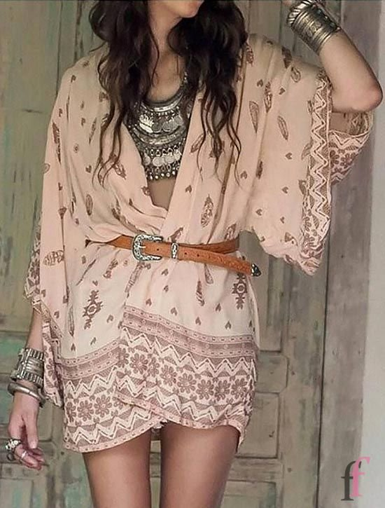 30+ best summer boho dress outfits for you. Bohemian style has found its way into fashion. Be ahead of the trends with Boho-chic outfits this summer, and focus on building off your signature bohemian look. So if you want to know boho trends and what you need to have these season, scroll through the gallery below #boho #bohemian #dress #summer #outfits