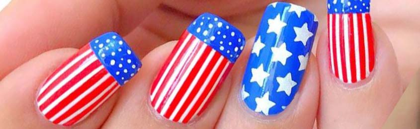 Cute Nail Designs for 4th of July