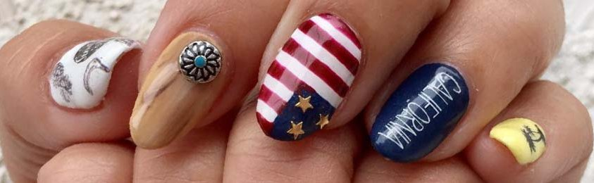 20 Cute And Easy Nail Designs For 4th Of July 2018 Ffemale