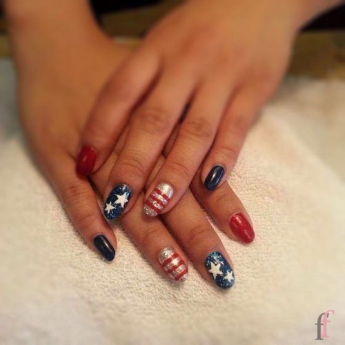 25 Easy Nail Art Ideas For 4th Of July 2018 Page 4 Of 4
