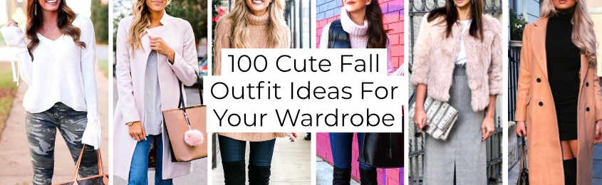 Cute Fall Outfit Ideas For Your Wardrobe -