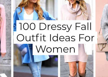 Dressy Fall Outfit Ideas For Women -