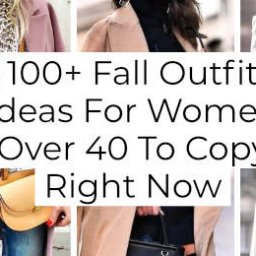 + Fall Outfit Ideas For Women Over To Copy Right Now -