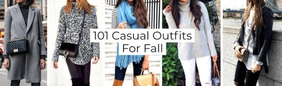 Casual Outfits For Fall -
