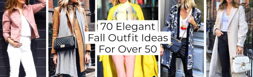 Elegant Fall Outfit Ideas For Over -