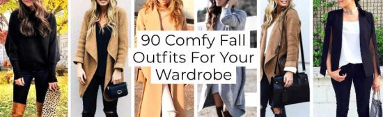 Comfy Fall Outfits For Your Wardrobe -