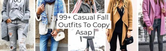 + Casual Fall Outfits To Copy Asap -