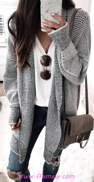 Adorable And Cute Autumn Wardrobe - female, attractive, flashy, wearing