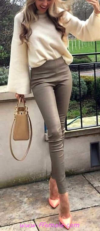 Adorable And Trendy Fall Look - elegance, adorable, sweet, fancy