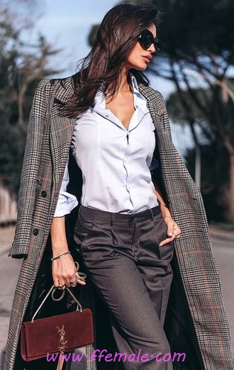 Attractive And Relaxed Look - women, outerwear, adorable, modern