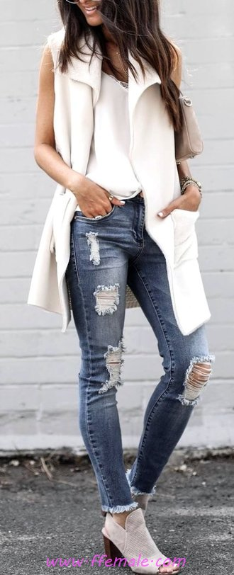 Attractive And So Shiny Outfit Idea - attractive, female, graceful, street
