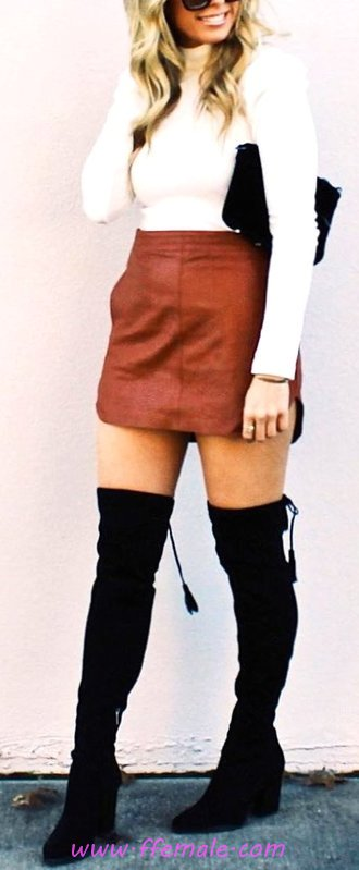 Awesome And Cute Look - charming, trendsetter, wearing, modern