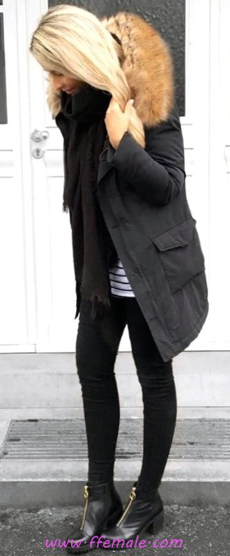 Awesome And Relaxed Fall Outfit Idea - cute, elegant, lifestyle, posing