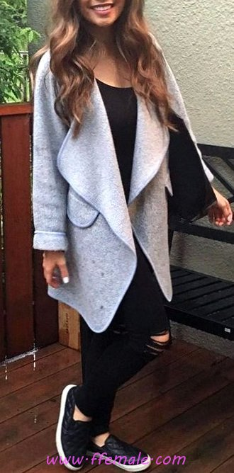 Awesome And Trendy Fall Wardrobe - lifestyle, women, cute, posing