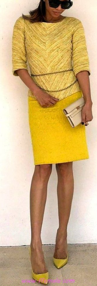 Awesome and cute look - fashionmodel, elegance, sunglasses, yellow, handbag