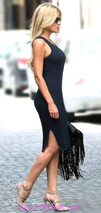 Awesome and super look - fashion, black