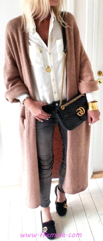 Beautiful And Simple Fall Outfit Idea - female, thecollection, fancy