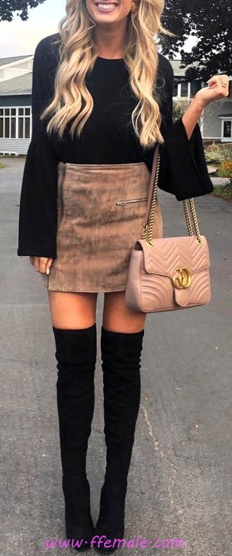 Beautiful & Lovely Autumn Look - adorable, trending, posing, flashy