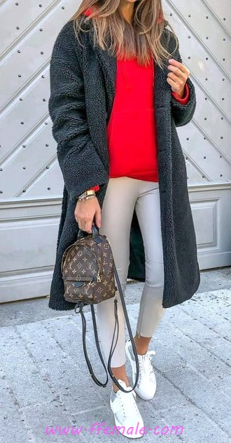 Beautiful & Simple Autumn Look - street, flashy, elegance