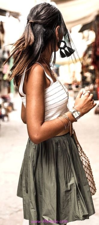 Best adorable and pretty inspiration idea - fashion, boho