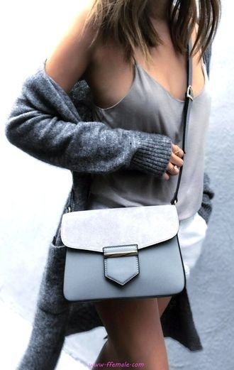Best attractive and trendy outfit idea - fashion, gray