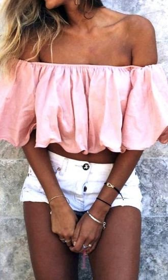 Best awesome and hot look - outfits , offshoulder