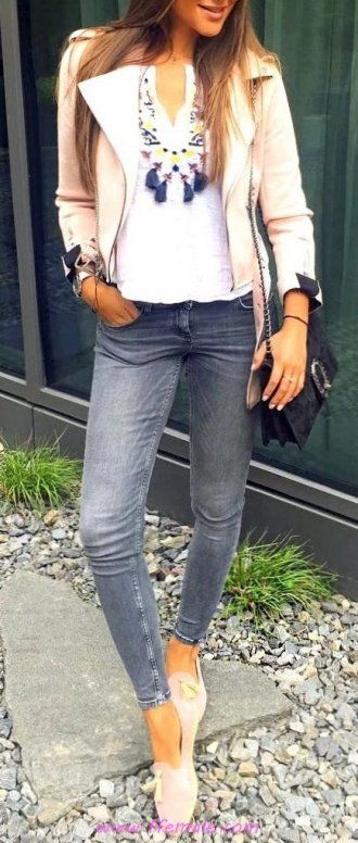 Best awesome and pretty wardrobe - denim, girl, posing, happy, elegance, handbag