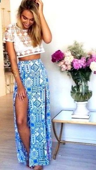 Best beautiful and handsome look - outfits, boho, maxi