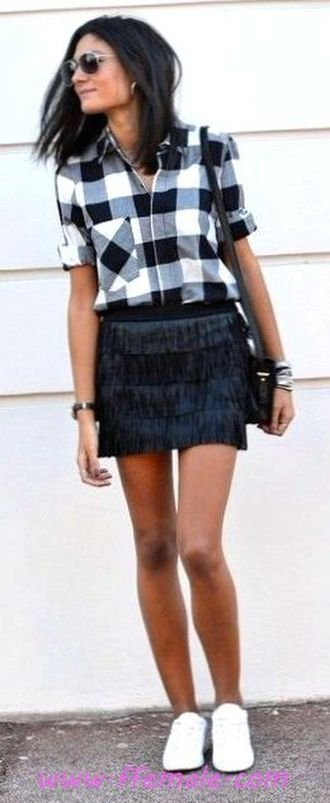Best elegant and relaxed outfit idea - fashion, shirt, mini