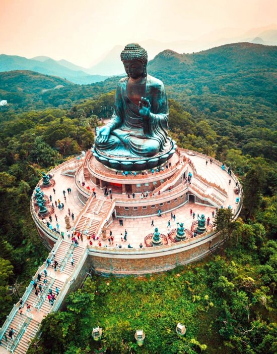 Big Buddha Lantau - places, destinations, holiday, world, trip, fantastic