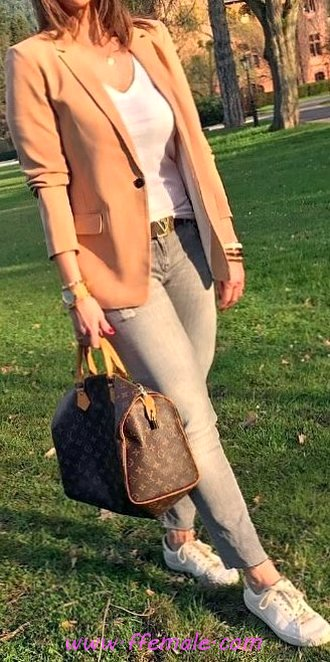Classic And Relaxed Outfit Idea - attractive, outerwear, fashionable, dressy