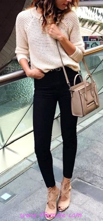 Classic And Relaxed Outfit Idea - thecollection, charming, fancy, female