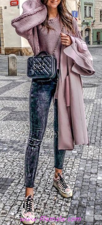 Classic And So Relaxed Fall Outfit Idea - fashionmodel, getthelook, attractive, outerwear