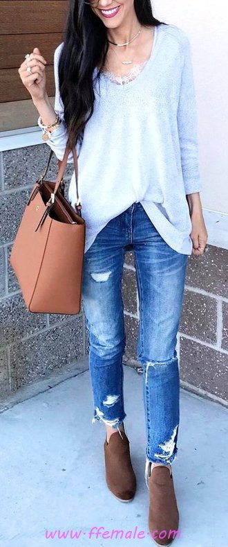 Classic And So Wonderful Autumn Outfit Idea - women, popular, charming, fancy