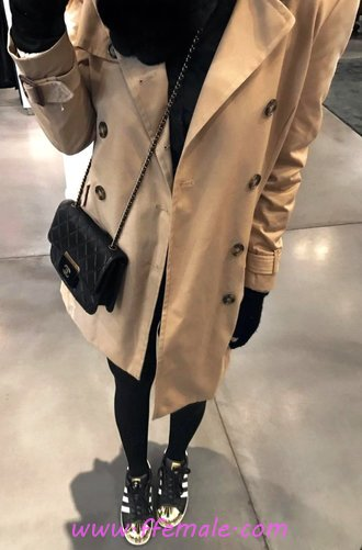 Classic And Trendy Autumn Wardrobe - popular, adorable, graceful, model