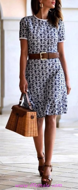 Classic and wonderful outfit idea - elegant, sweet, attractive, cute