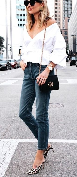 Clean Summer look for your wardrobe
