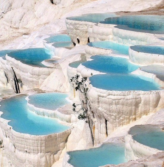 Cleopatra Pool Pamukkale Turkey - wonderful, adventure, destinations, places, vacation, europe