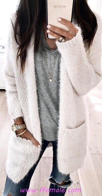 Comfortable And Hot Outfit Idea - street, model, modern