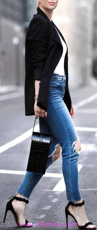 Comfortable And Lovely Autumn Outfit Idea - graceful, lifestyle, wearing, female