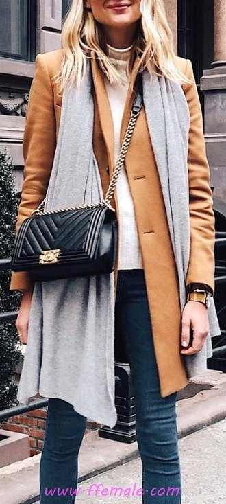 Comfortable And Pretty Autumn Outfit Idea - adorable, women, graceful, thecollection