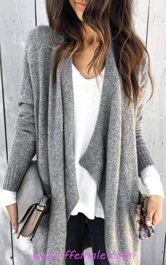 Comfortable And Simple Fall Outfit Idea - lifestyle, sweet, cute, women