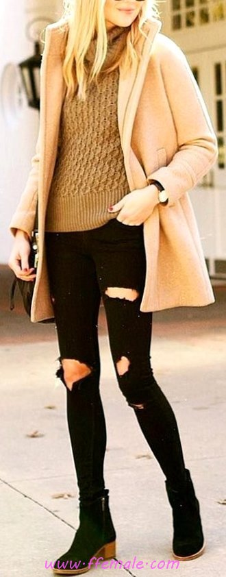 Comfortable And Trendy Fall Look - flashy, wearing, attractive, trendy