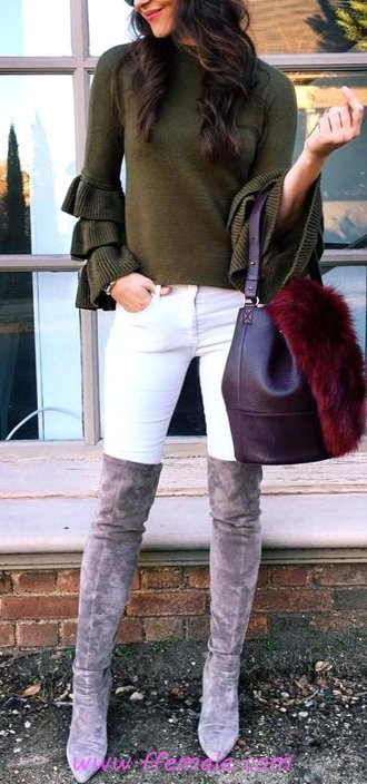 Cute & Attractive Autumn Outfit Idea - female, flashy, outerwear, adorable