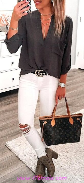 Cute Autumn Outfit Idea - elegance, cool, dressy, thecollection
