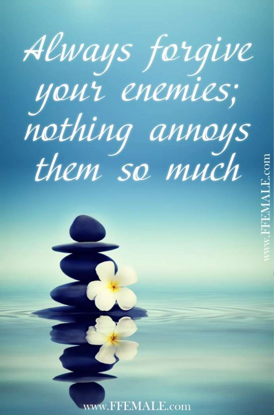 50+ Deep Motivational quotes: Always forgive your enemies; nothing annoys them so much #quotes #deep #motivation #inspiration #quote