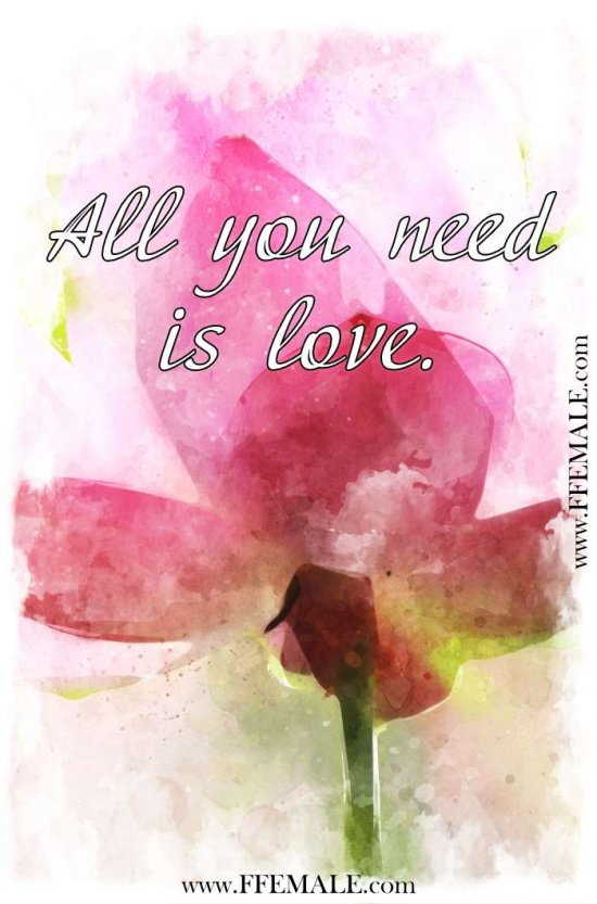 Deep quotes about love: All you need is love... #quotes #love #deep #inspiration #motivation