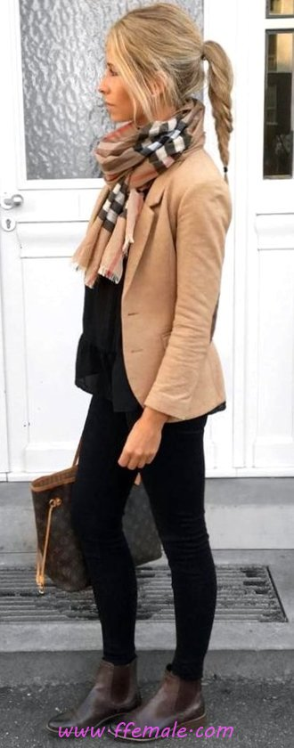Elegant And Handsome Fall Outfit Idea - trending, wearing, adorable, modern